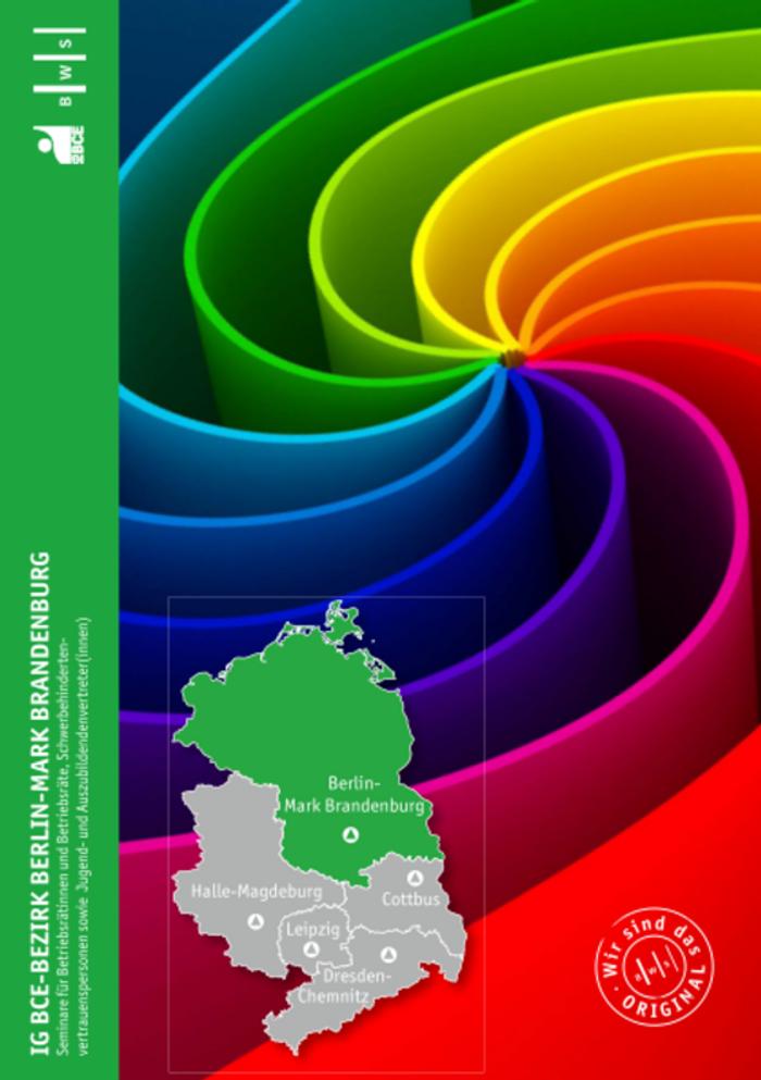 IG BCE - Landesbezirk Nordost - Bezirk Berlin-Mark Brandenburg